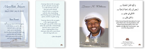 Personalized Prayer Cards